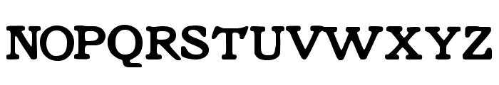 Knorke Font UPPERCASE