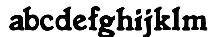 Knorke Font LOWERCASE