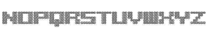 Knot BRK Font UPPERCASE