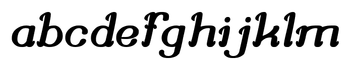 Knowing How Font LOWERCASE