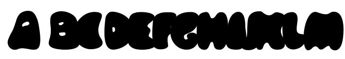 Knubbel Font UPPERCASE