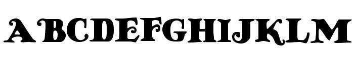 Knuffig Font UPPERCASE