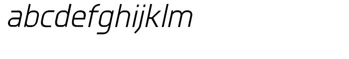 Knul Italic Font LOWERCASE
