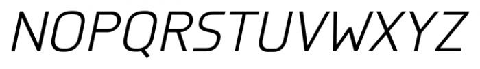 Knul Italic Font UPPERCASE