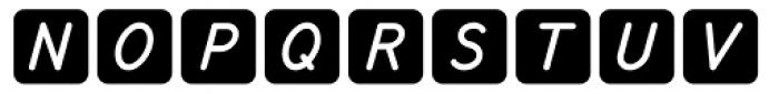 Knappolog Italic Font UPPERCASE