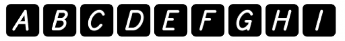 Knappolog Italic Font LOWERCASE