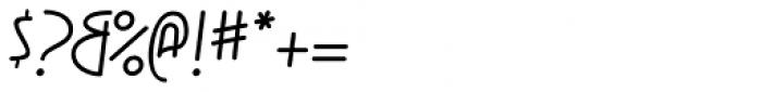 KnewFont Font OTHER CHARS