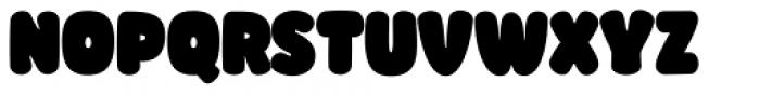 Knicknack Black Font UPPERCASE