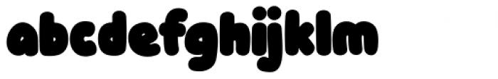 Knicknack Black Font LOWERCASE