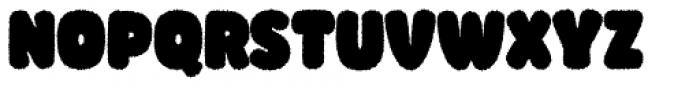 Knicknack Fuzzy Black Font UPPERCASE
