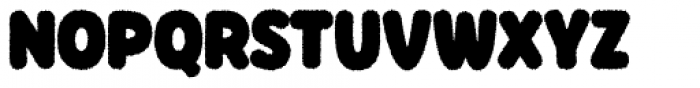 Knicknack Fuzzy Medium Font UPPERCASE