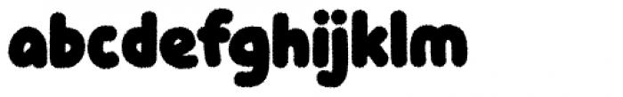 Knicknack Fuzzy Medium Font LOWERCASE