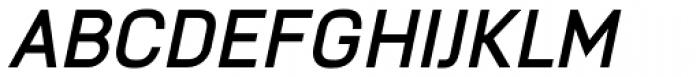 Knul Bold Italic Font UPPERCASE