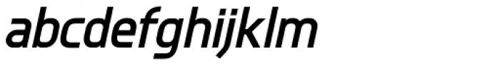 Knul Bold Italic Font LOWERCASE