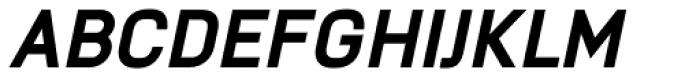 Knul ExtraBold Italic Font UPPERCASE