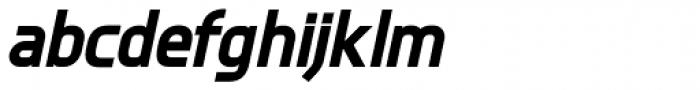 Knul ExtraBold Italic Font LOWERCASE