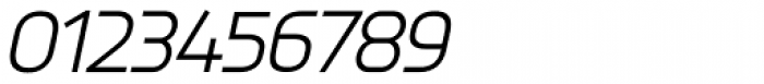 Knul Italic Font OTHER CHARS