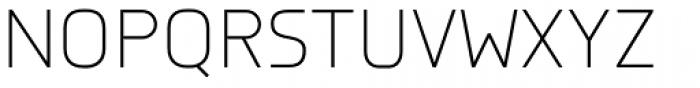 Knul Light Font UPPERCASE