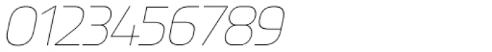 Knul UltraLight Italic Font OTHER CHARS