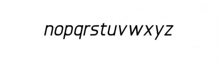 Knul Medium Italic Font LOWERCASE