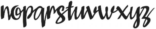 Kompar Medium otf (500) Font LOWERCASE