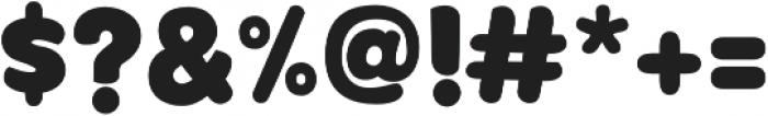 KoniBlack KoniBlack otf (900) Font OTHER CHARS