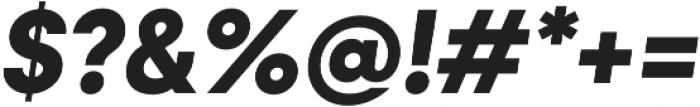 Konnect otf (700) Font OTHER CHARS