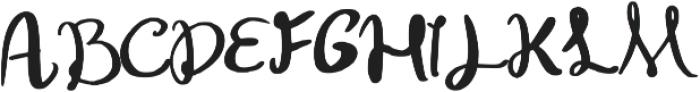 Konya Regular otf (400) Font UPPERCASE