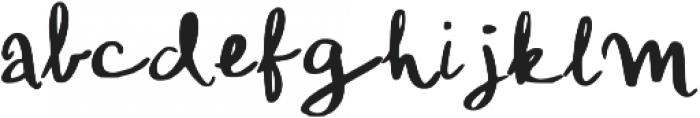 Konya Regular otf (400) Font LOWERCASE