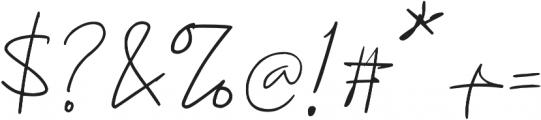 Konya otf (400) Font OTHER CHARS