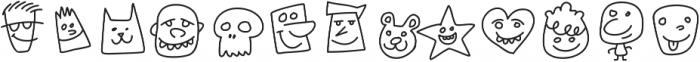 Kookyheads otf (400) Font UPPERCASE