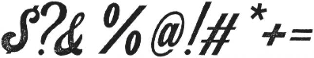 Koozie Script Distressed ttf (400) Font OTHER CHARS