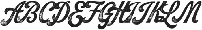 Koozie Script Distressed ttf (400) Font UPPERCASE