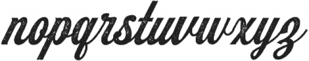 Koozie Script Distressed ttf (400) Font LOWERCASE
