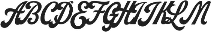 Koozie Script otf (400) Font UPPERCASE