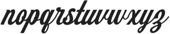 Koozie Script otf (400) Font LOWERCASE