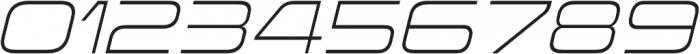 Korataki ExtraLight Italic otf (200) Font OTHER CHARS