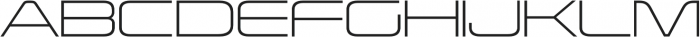 Korataki ExtraLight otf (200) Font UPPERCASE