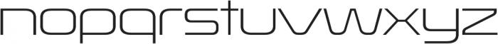 Korataki ExtraLight otf (200) Font LOWERCASE