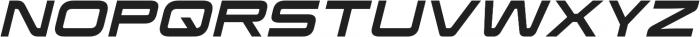 Korataki Italic otf (400) Font UPPERCASE