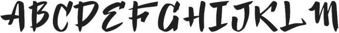 Kosambi Regular otf (400) Font UPPERCASE