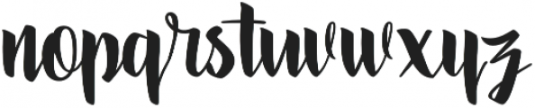 Kosambi Regular otf (400) Font LOWERCASE