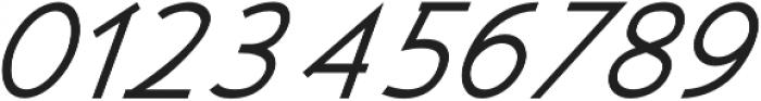 Kosmique Regular Italic otf (400) Font OTHER CHARS