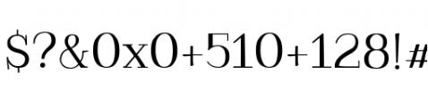 Kowalski2 A Font OTHER CHARS