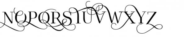 Kowalski2 A Font UPPERCASE