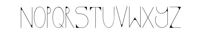 KODA Font LOWERCASE