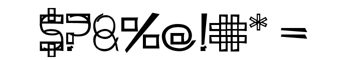 KODYZ Font OTHER CHARS