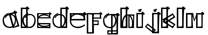 KODYZ Font LOWERCASE