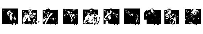 KOF Dingbats Font OTHER CHARS