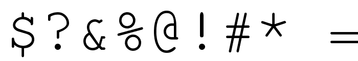 KOI8 Kurier Fixed Font OTHER CHARS